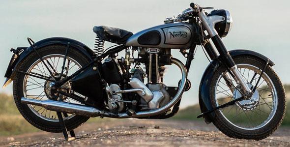Moto Norton 1947