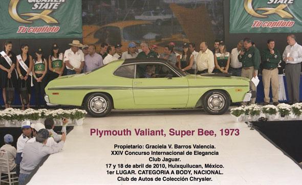 Auto Chrysler Valiant Super Bee