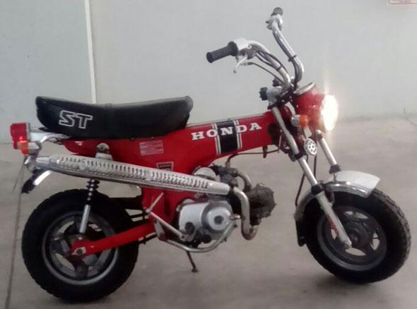 Motorcycle Honda ST-70