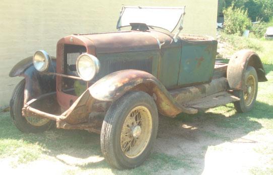 Auto Studebaker 1929