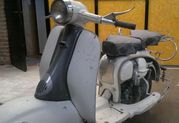 Moto Lambretta 150 1961