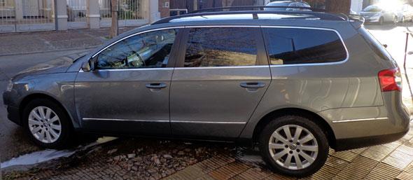 Auto Volkswagen Passat Variant 2.0 Fsi Luxury Triptronic