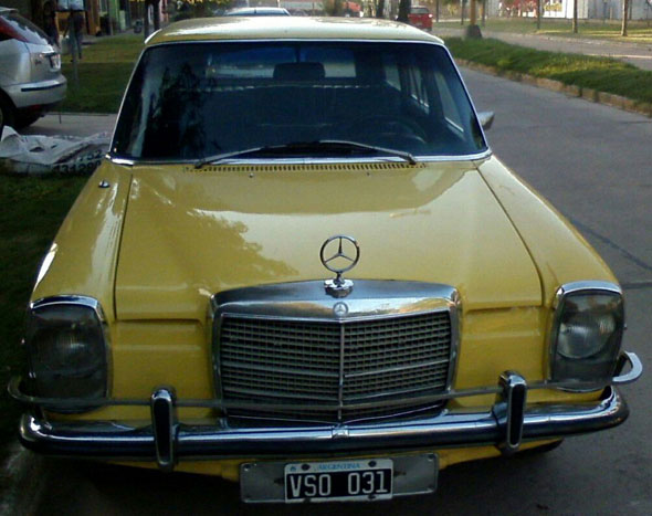 Car Mercedes Benz 220 Rural  1976