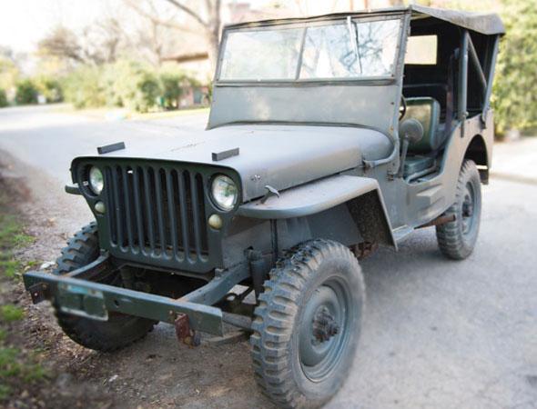 Auto Jeep Ford GPW