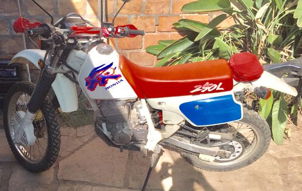 Moto Honda XR250L 1993