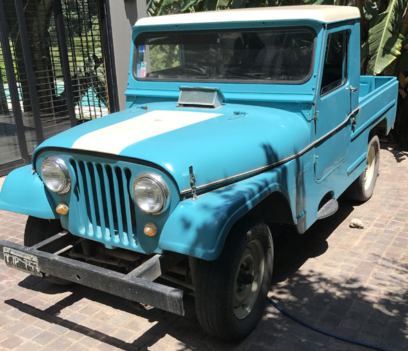 Renault Jeep Ika Usd 7000 En94624
