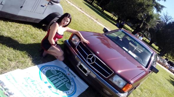 Car Mercedes Benz 1985
