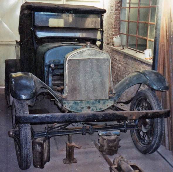Car Ford T 1926/27