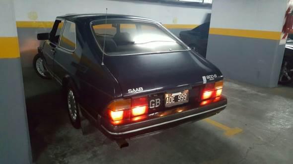 Car Saab 900S