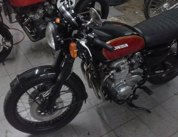 Motorcycle Honda 1975