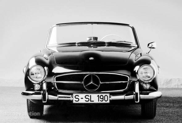 Car Mercedes Benz 190 SL