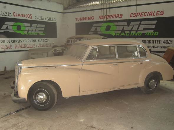 Car Mercedes Benz 300 S 1953