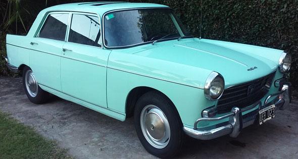 Car Peugeot 404 1963