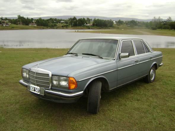 Car Mercedes Benz 280E 1977