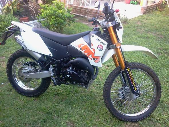 Car XMM Motomel 250 ON OFF