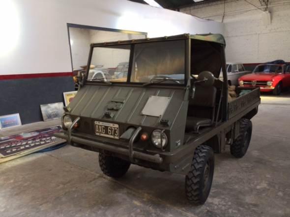 Car Jeep Haflinger Puch 4x4