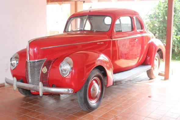 Auto Ford 1940 Coupé De Luxe