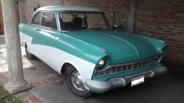 Car Ford Taunus 1958