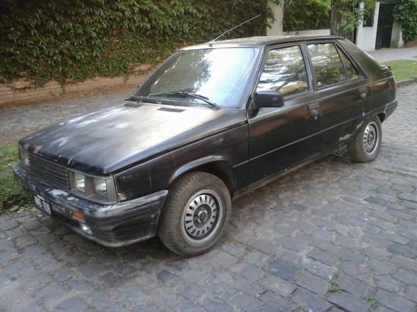 Car Renault 11 Turbo 1989