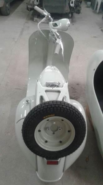 Motorcycle Vespa VL3 1956