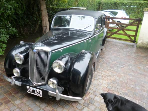 Car Riley RS 1500 1947