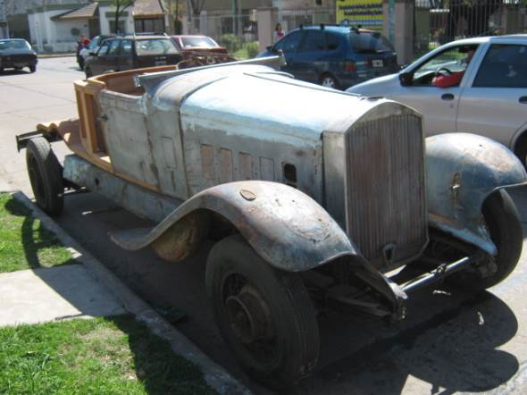 Auto Pierce Arrow 1929