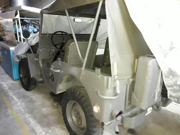 Car Jeep 1946