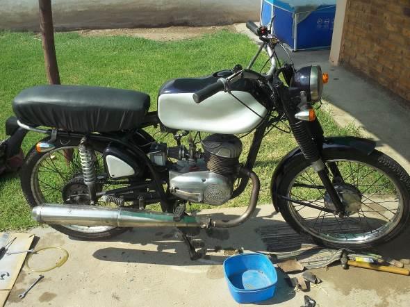 Motorcycle Zanella 1965