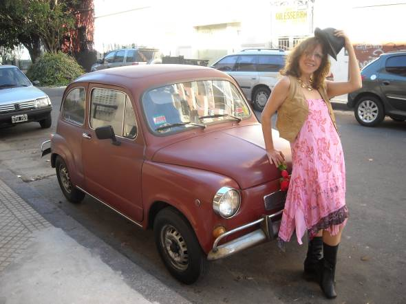 Auto Fiat 600 1974