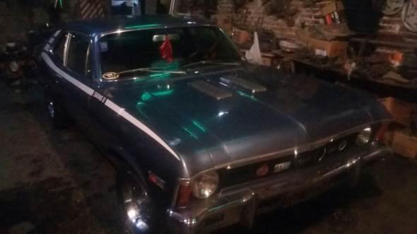 Auto Chevrolet Coupé Chevy