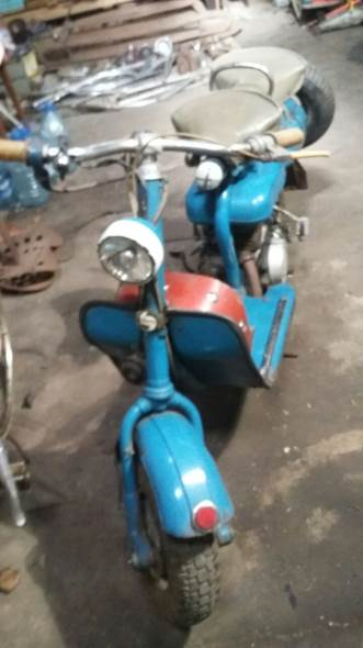 Moto Siam Lambreta 1957