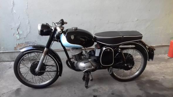 Moto DKW 125 1960