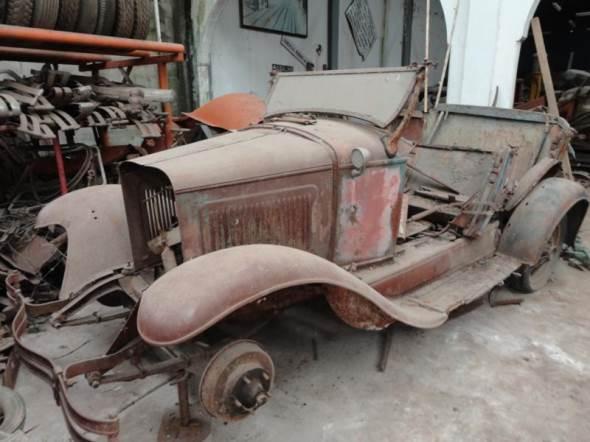 Car Whippet 1928
