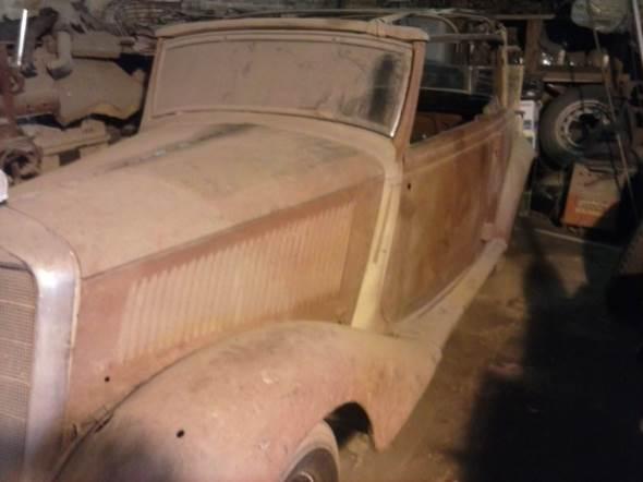 Auto Mercedes Benz 170 Serie B Cabriolet 1937