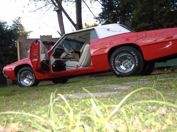 Auto Ford Thumderbird 1967