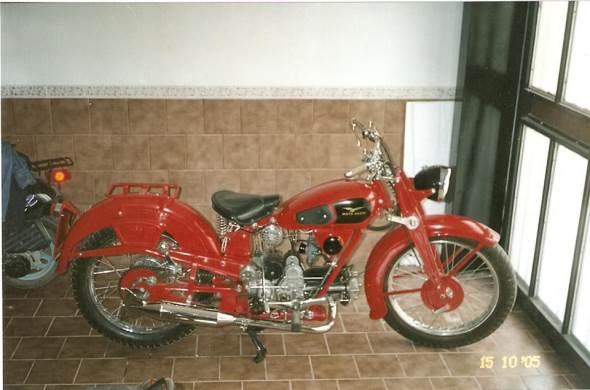 Motorcycle Moto Guzzi Airone 1946