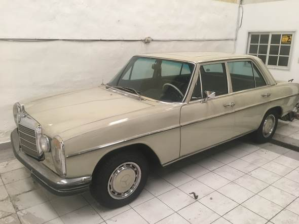 Car Mercedes Benz 1968