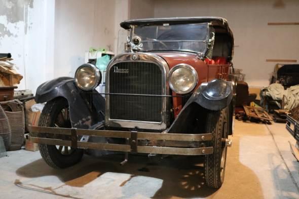 Car Dodge 1925 Doble Phaeton