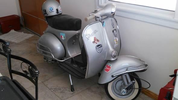 Moto Vespa VBB1