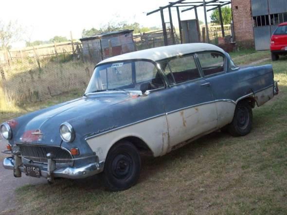 Car Opel Rekord Olimpia 1958