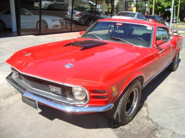 Car Ford Mustang Mach 1
