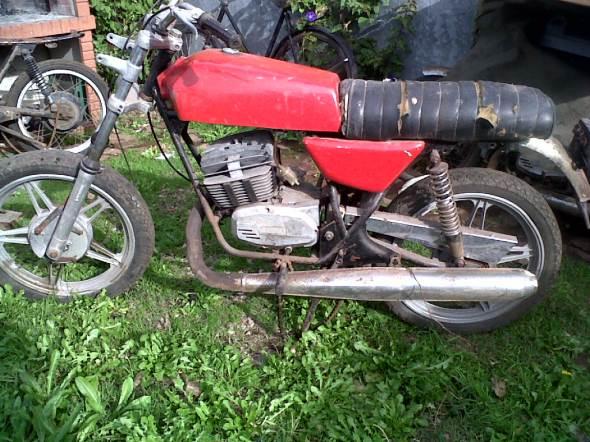 Motorcycle Zanella RZF 200 1980