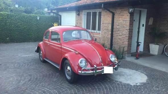 Car Volkswagen Escarabajo