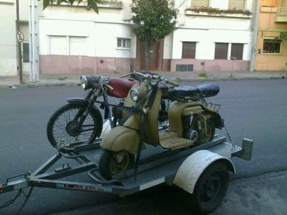 Motorcycle Siambreta 125 LD
