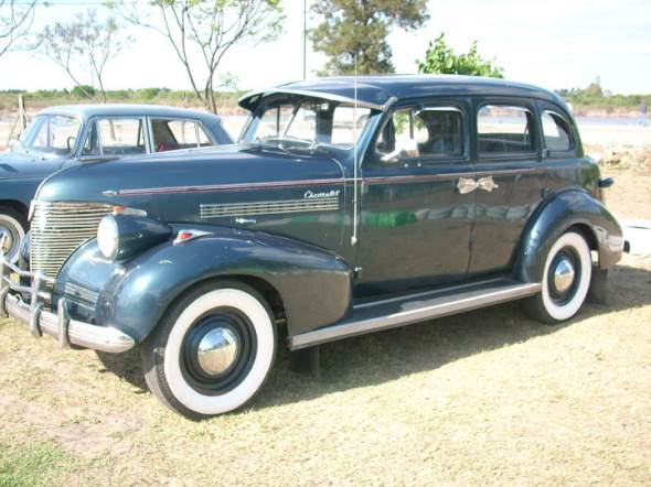 Car Chevrolet Fleetmaster 1939