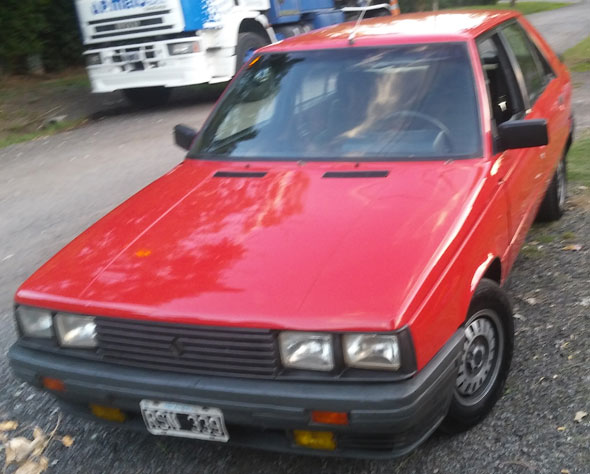 Auto Renault 11 Turbo