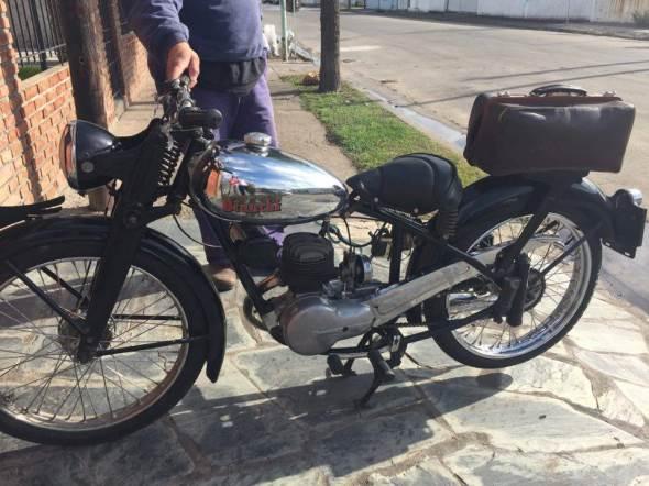 Moto Bianchi 1949