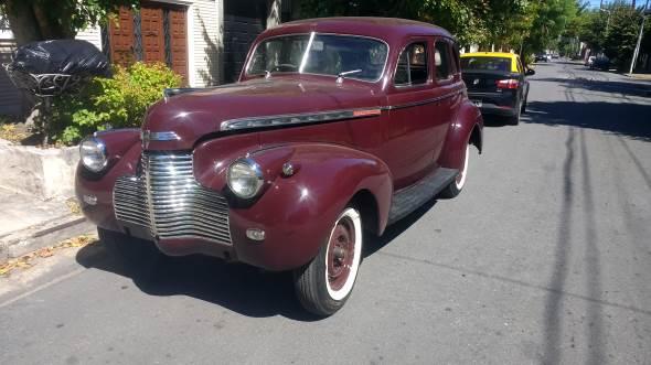 Auto Chevrolet Special Deluxe 1940