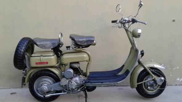 Motorcycle Siambretta Estandar