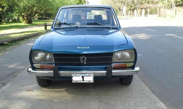 Car Peugeot 504 1972